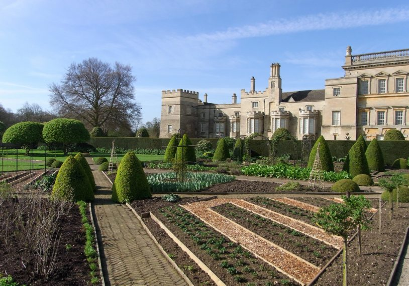 The stunning gardens of Grimsthorpe