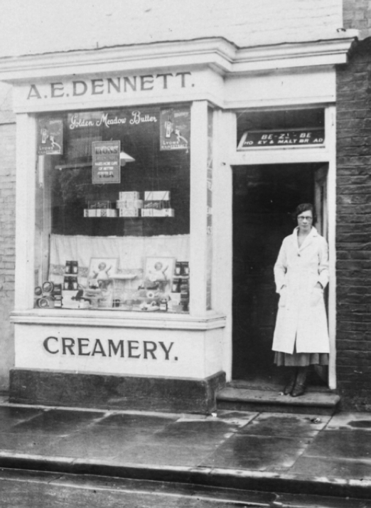 The first ever creamery in Spilsby.