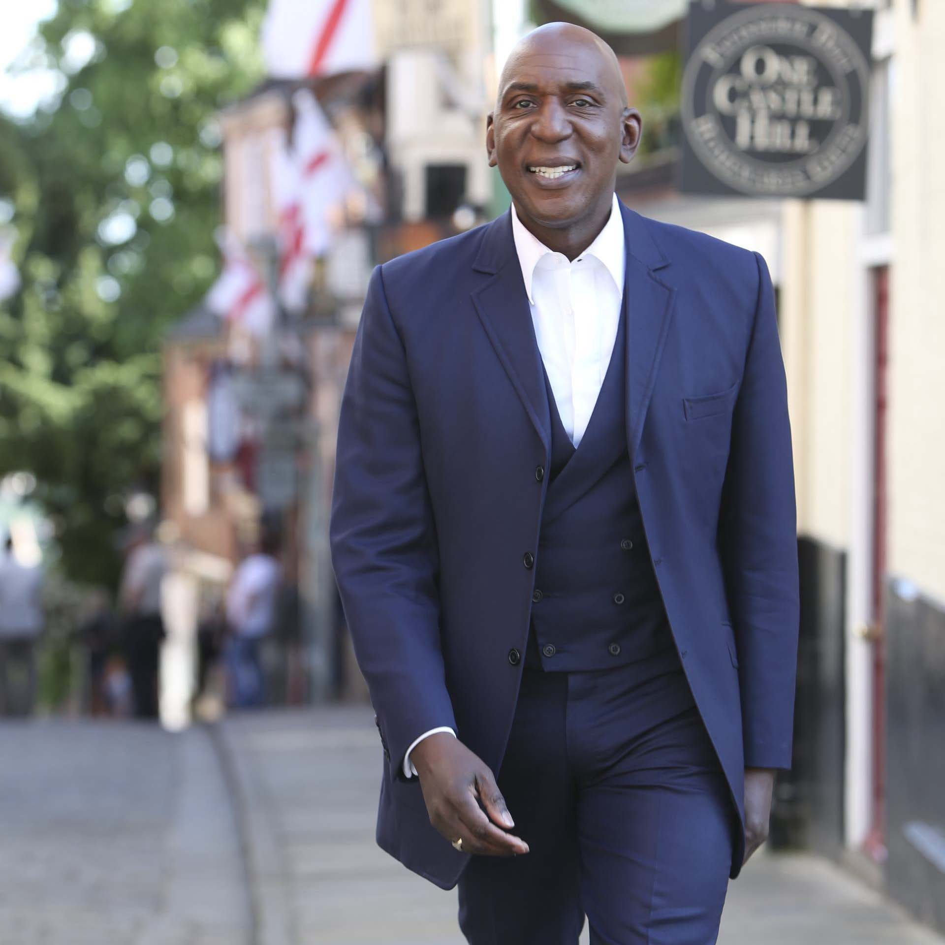 Colin McFarlane on Steep Hill. Image: Phil Crow.