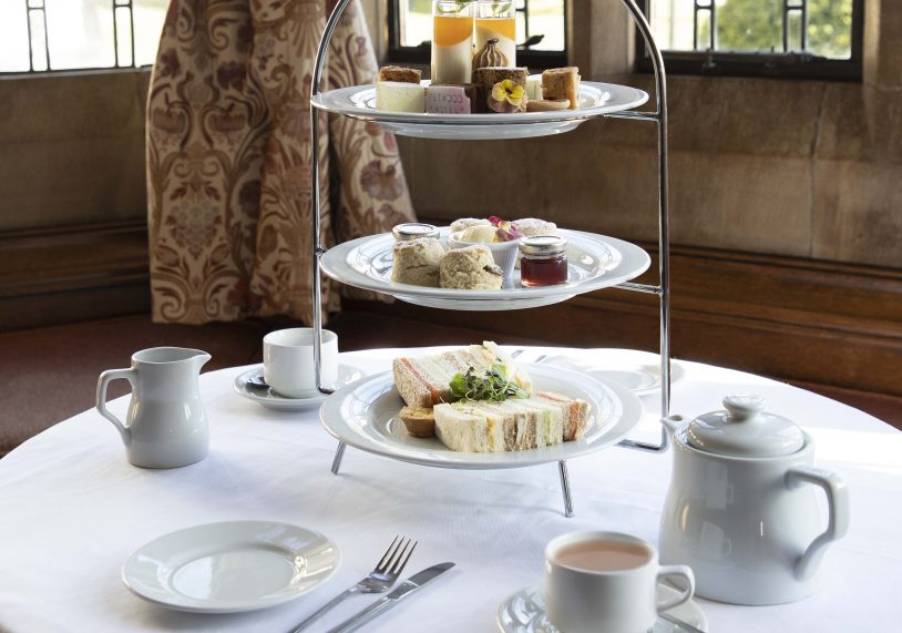 Afternoon Tea at the Petwood Hotel.