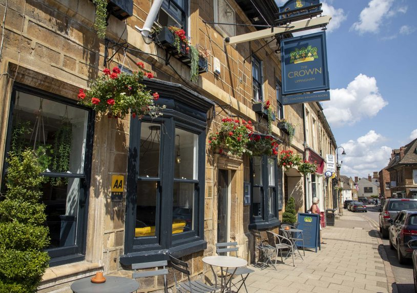 The Crown, Uppingham.