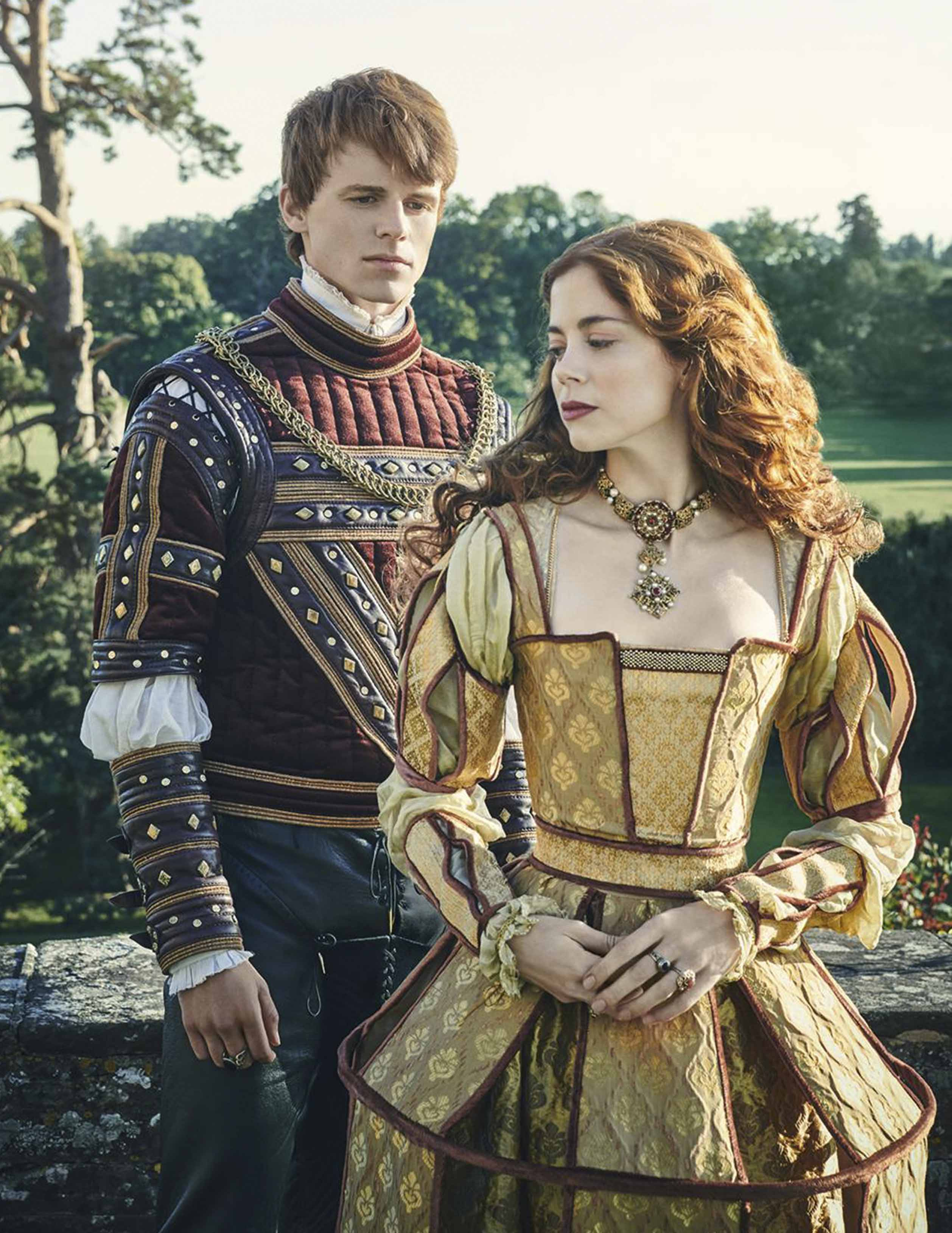 The life of Katherine of Aragon, Henry VIII's first wife, is retold in a new series screening on Amazon. Katherine and Henry VIII are portrayed by Charlotte Hope and Ruairi O'Connor.