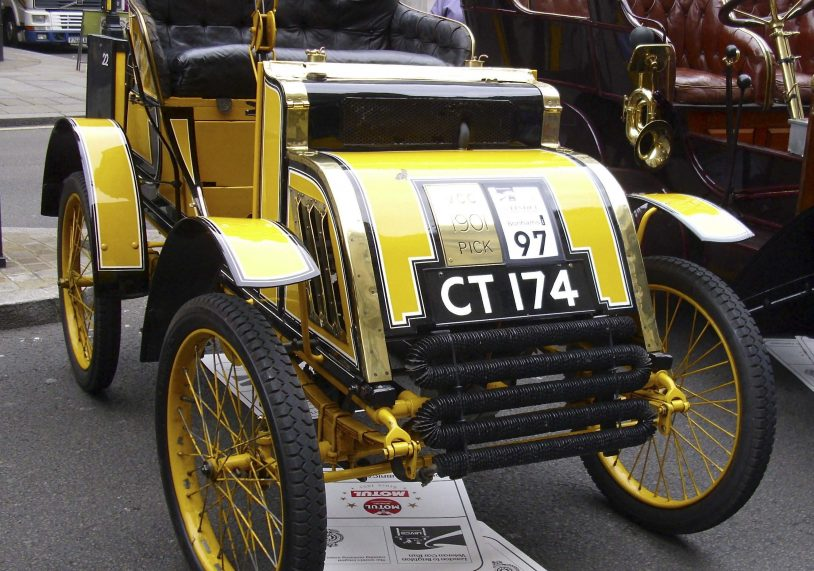 A Pick 1901 Voiturette... made in Stamford!